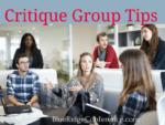 critique group tips, blueridgeconference.com