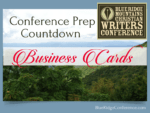 Conference Prep Countdown, BlueRidgeConference.com